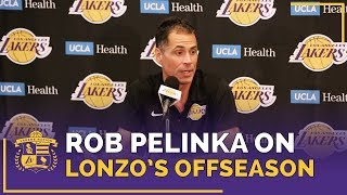 Rob Pelinka Impressed By Lonzo Ball Offseason Workouts, Asking To Watch Film With Magic Johnson