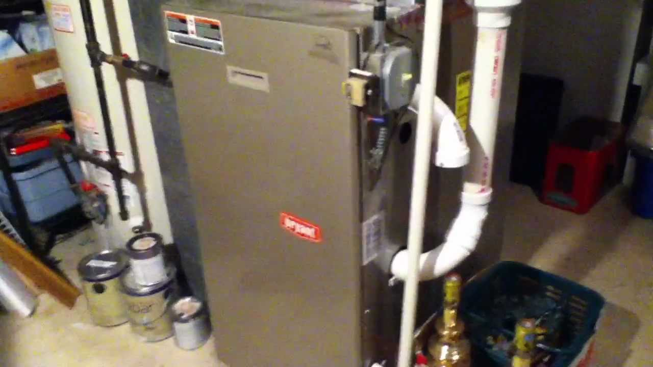 New 2012 Bryant Legacy Line 90 Gas Furnace Youtube