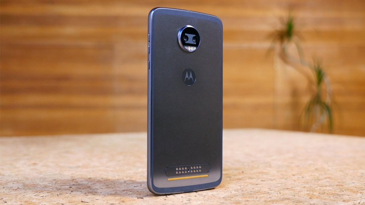 4f5d0cc6ab Moto Z2 Force Review - YouTube