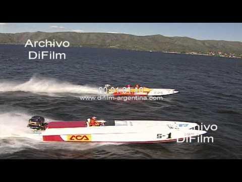 DiFilm - Daniel Scioli Campeonato Argentino de Offshore 1997