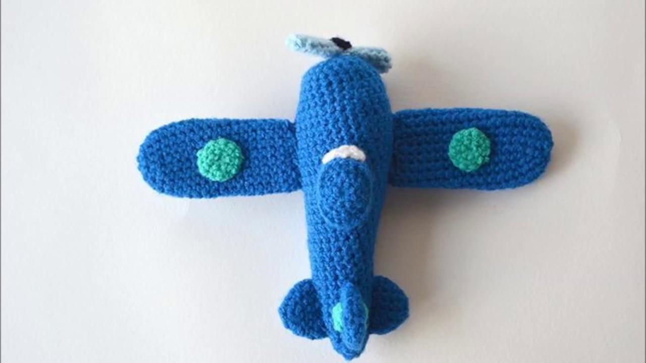 Crochet Airplane Youtube