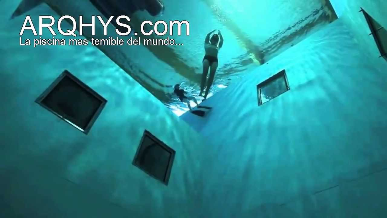 la piscina mas temible del mundo youtube
