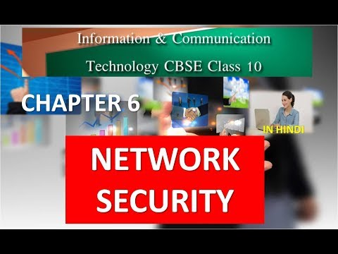NETWORK SECURITY CLASS 10 ICT CHAPTER 6 CBSE IN HINDI Part 1