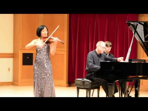 Ravel Tzigane for violin and piano