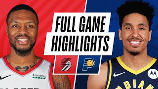 Download TRAIL BLAZERS at PACERS   FULL GAME HIGHLIGHTS   April 27, 2021