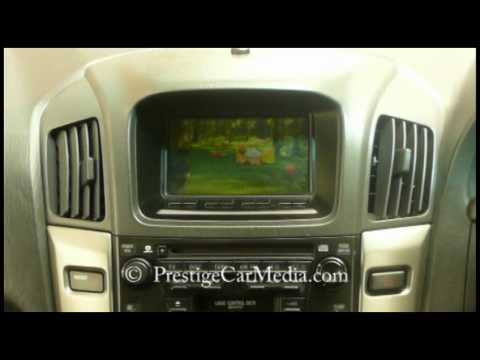 Toyota Harrier Freeview Digital TV Conversion from PrestigeCarMedia