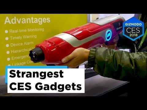 Most Absurd Gadgets at CES (sponsored by Kohler)   CES 2018