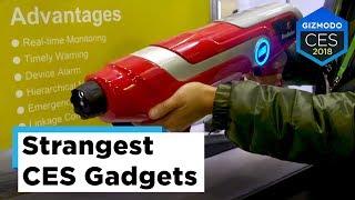 Most Absurd Gadgets at CES (sponsored by Kohler) | CES 2018