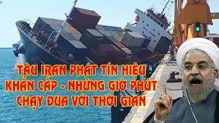 CẬP NHẬT: Tàu Iran phát tín hiệu cầu cứu ở biển Caspian. Những giờ phút chạy đua với thời gian