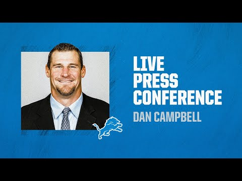 Dan Campbell introductory press conference