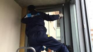 АЛ-ПЛЮС. Замена холодного остекления на теплое без изменения фасада.(, 2015-04-02T13:26:49.000Z)