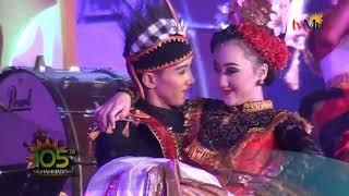 Tari Lintas Nusa Satriyo Ayodya Entertainer feat Sandrina di acara Milad Muhamadiyah 105 MP3