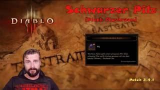 Diablo 3: schwarzer pilz [patch 2.4.2] black mashroom - wautscher's farmquickie [ros/pc]