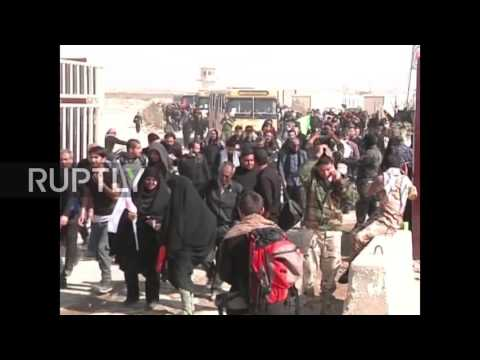 Iraq: Millions cross border from Iran to mark Arbaeen