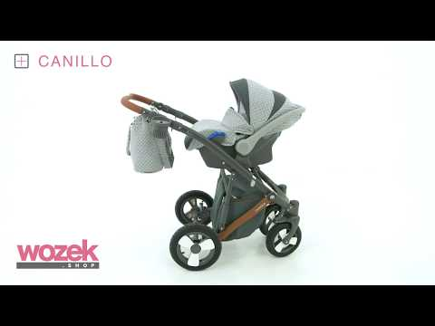 Canillo Camarelo wózek dziecięcy - www.wozek.shop