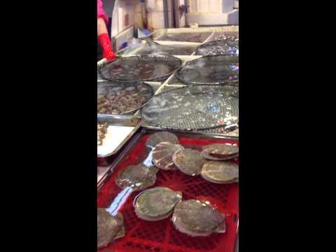 Aberdeen Fish Market Hong Kong