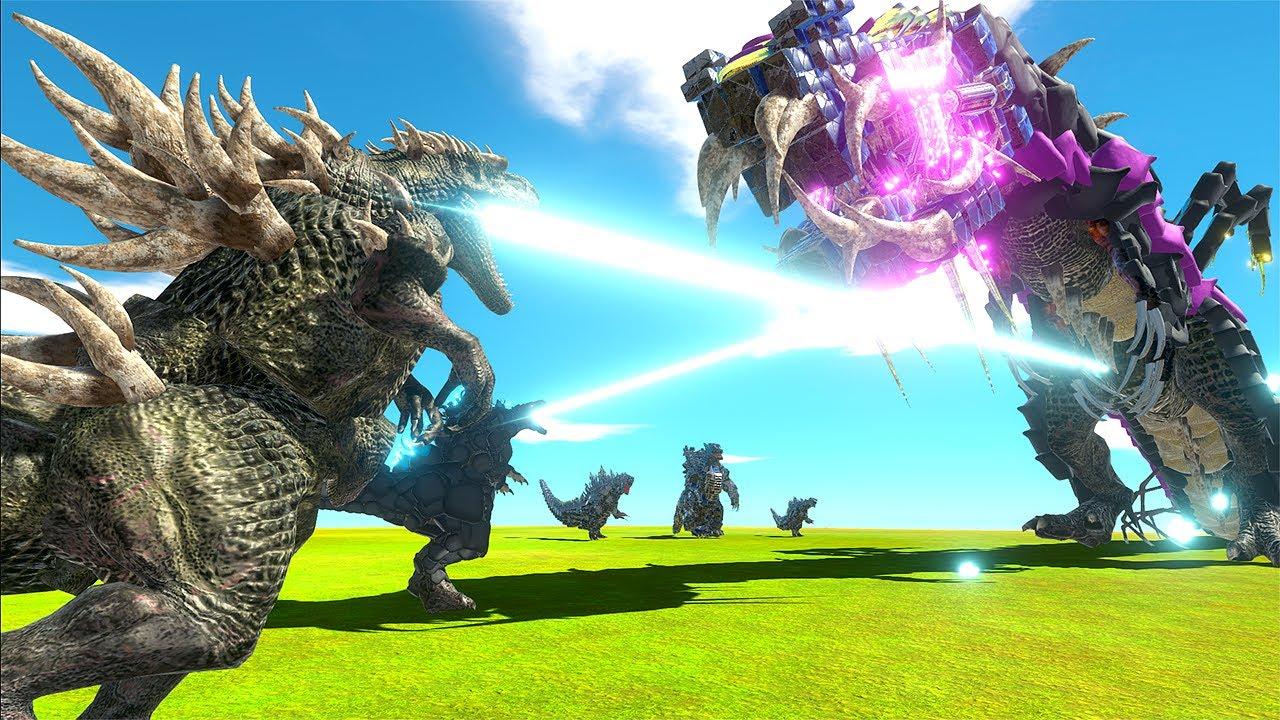 EVERY Godzilla vs HUGE Monster - Animal Revolt Battle Simulator