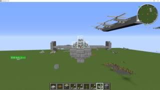 【minecraft】 単座軽量戦闘機「ボールトンポール P.100」作ってみた!