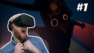 I SCREAMED LIKE A GIRL!! Dark Days Oculus Rift Horror Gameplay - Episode 1