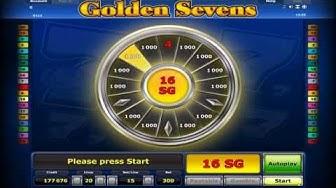 GOLDEN SEVENS +BONUS GAME! +FREE SPINS! +MEGA WIN! online free slot SLOTSCOCKTAIL hhs