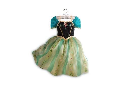 bfcce11f62e FROZEN PRINCESS ANNA DISNEY STORE DRESS REVIEW Disney Princess Elsa Anna  Olaf
