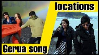 Gerua song | shooting locations | dilwale 2015 | Iceland | Bulgaria | lyrics