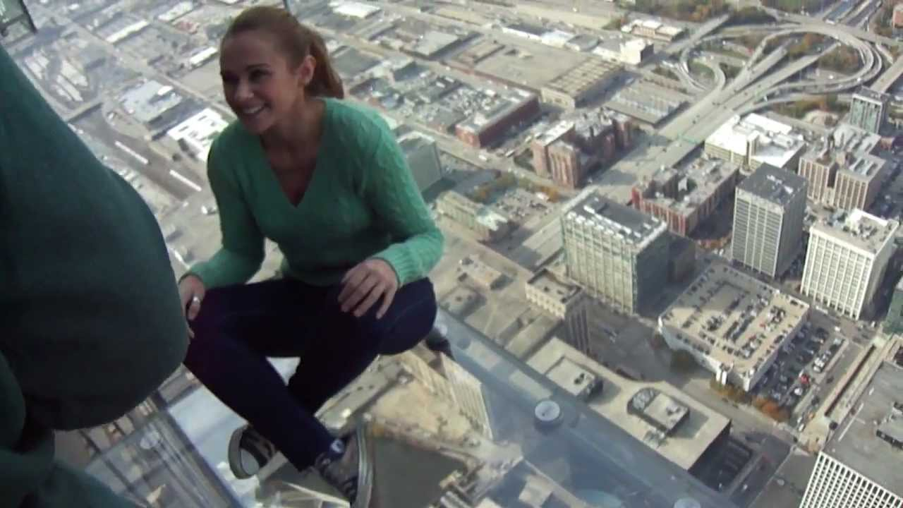 Willis Tower Skydeck Chicago  YouTube