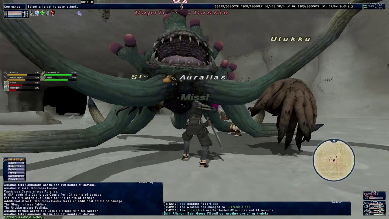Capricious Cassie - Classic Notorious Monsters - Final Fantasy XI