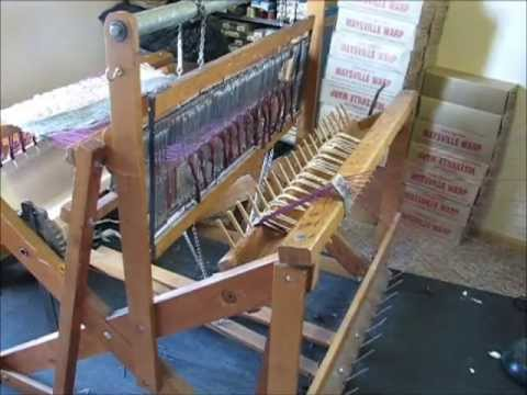 Warping Moms Orco 2 Harness Loom Youtube