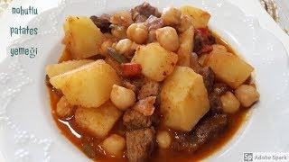 Nohutlu Patates Yemeği - Hülya Ketenci - Yemek Tarifleri