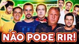 Baixar NÃO PODE RIR! - com ZICO, GIGANTE LÉO, VEGETA e CANAL GOL CONTRA!