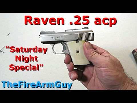 Raven  25 ACP - I Paid $40 For It - TheFireArmGuy
