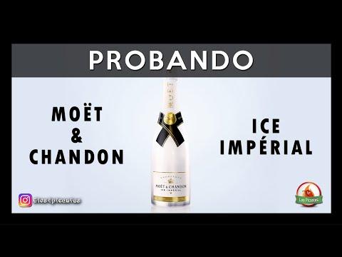 Probando el Moët & Chandon Ice Impérial
