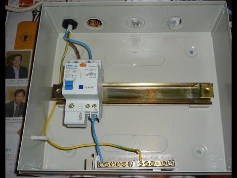 double pole breaker wiring in urdu/hindi  electrical urdu tutorials