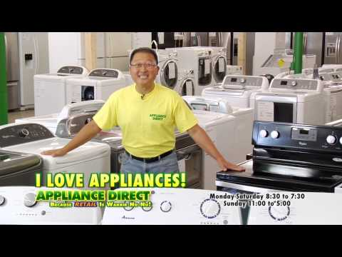 Dryers! Appliance Direct!