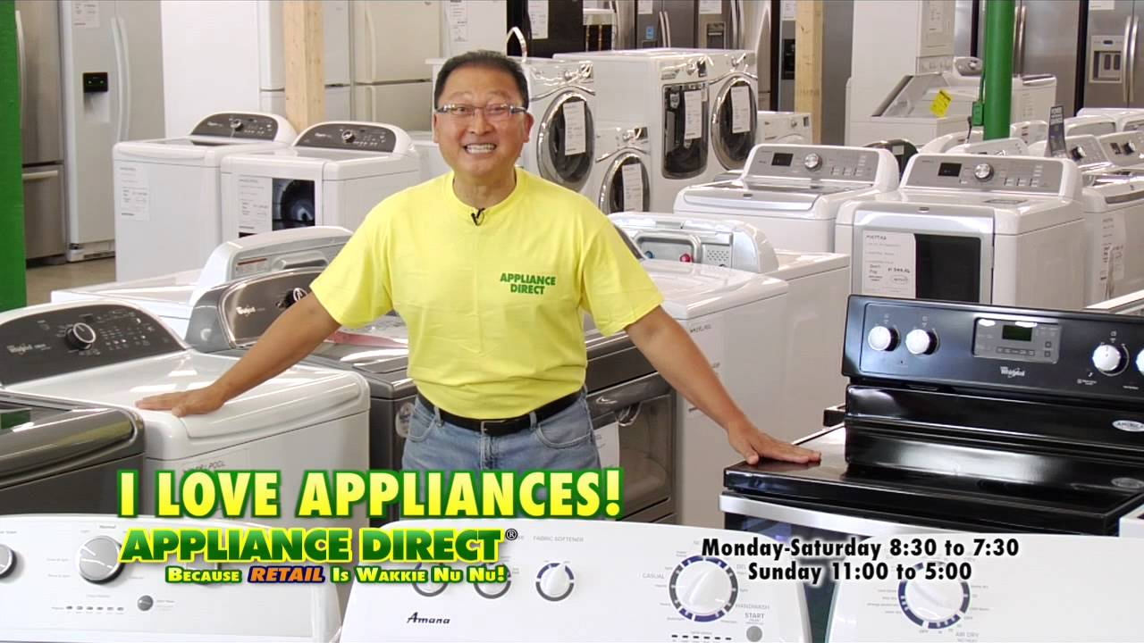 Dryers! Appliance Direct! - YouTube