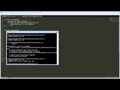 {HTML5} Урок 2, Как организовать AJAX или XMLHttpRequest.