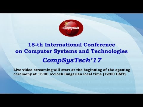 CompSysTech'17 LIVE
