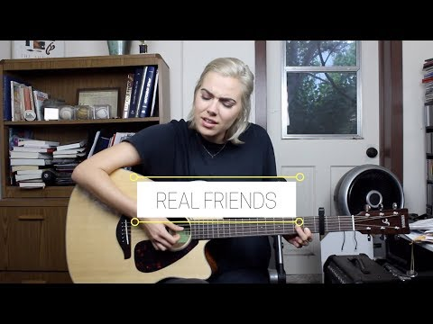 REAL FRIENDS (cover) - Joanna Simon