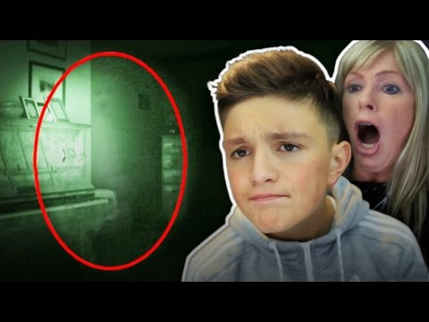 Reacting to *Real Ghosts Caught on Camera*...
