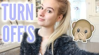 Things That Turn Off Girls | COCO Chanou