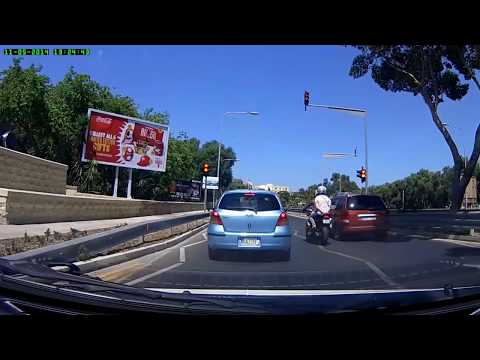 Very first time driving on the left - Malta