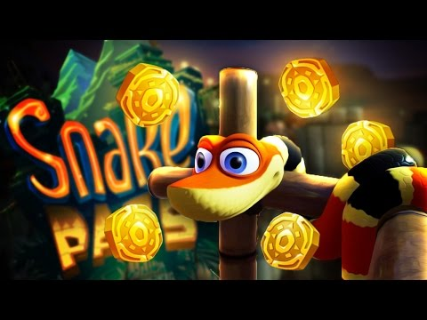 Snake Pass Ep 2 - GETTING THE COINS! - Let's Play Snake Pass PC Gameplay (PC Steam Version)
