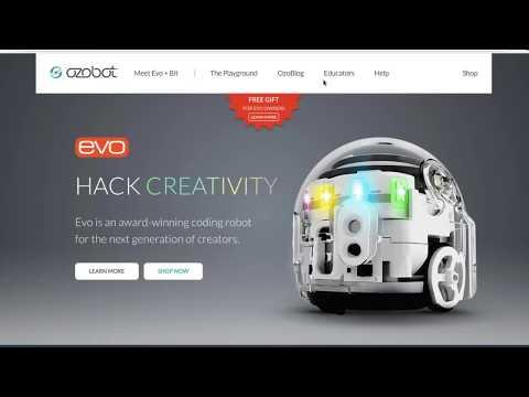 Ozobot's 2017 Hour of Code Webinar