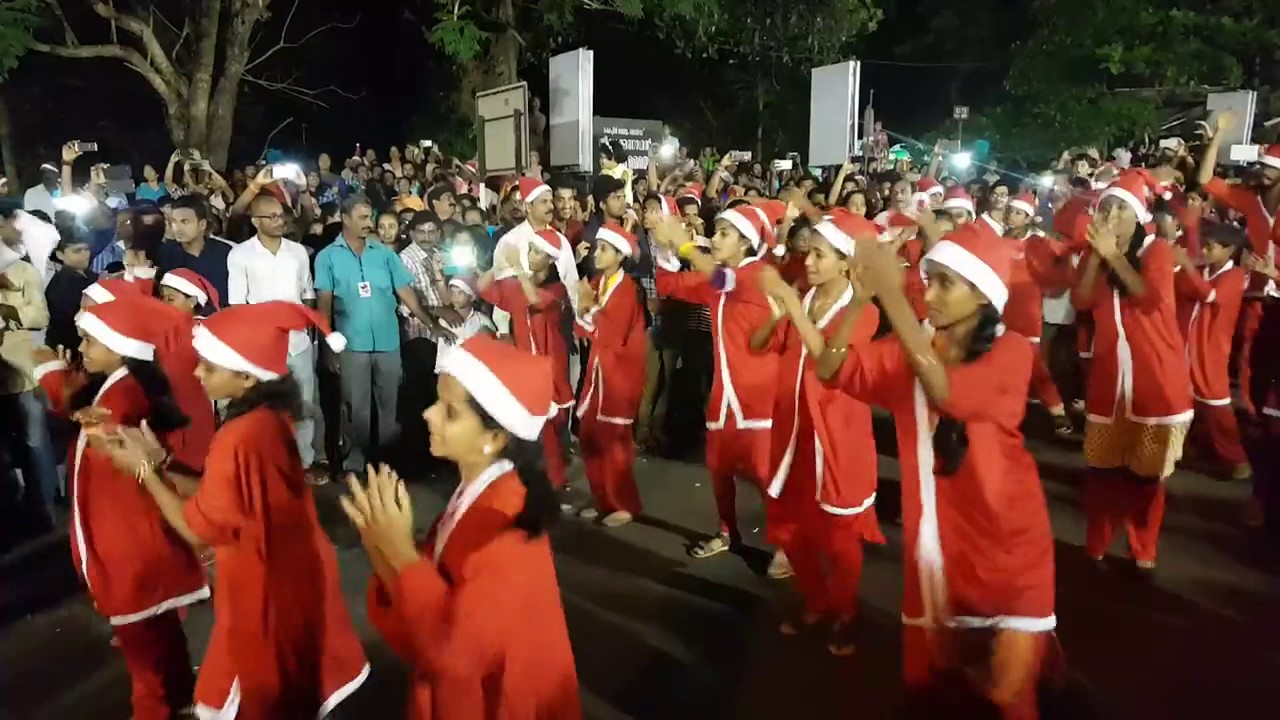 Buon Natale Thrissur.Buon Natale 2016 Flash Mob Thrissur