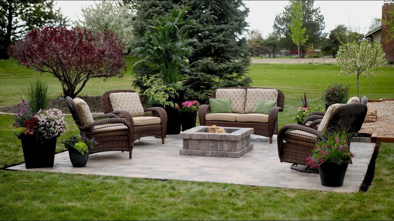 installing a paver patio garden answer
