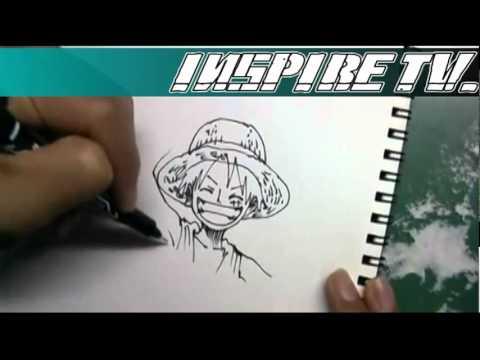 ลูฟี่ : การสอนวาดรูปลูฟี่ [BY INSPIRE]
