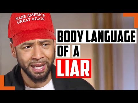 All The Proof You Need Jussie Smollett Staged His Attack - Body Language Secrets