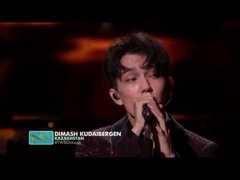 Dimash Kudaibergen sings SOS THE World's Best 2019 USA