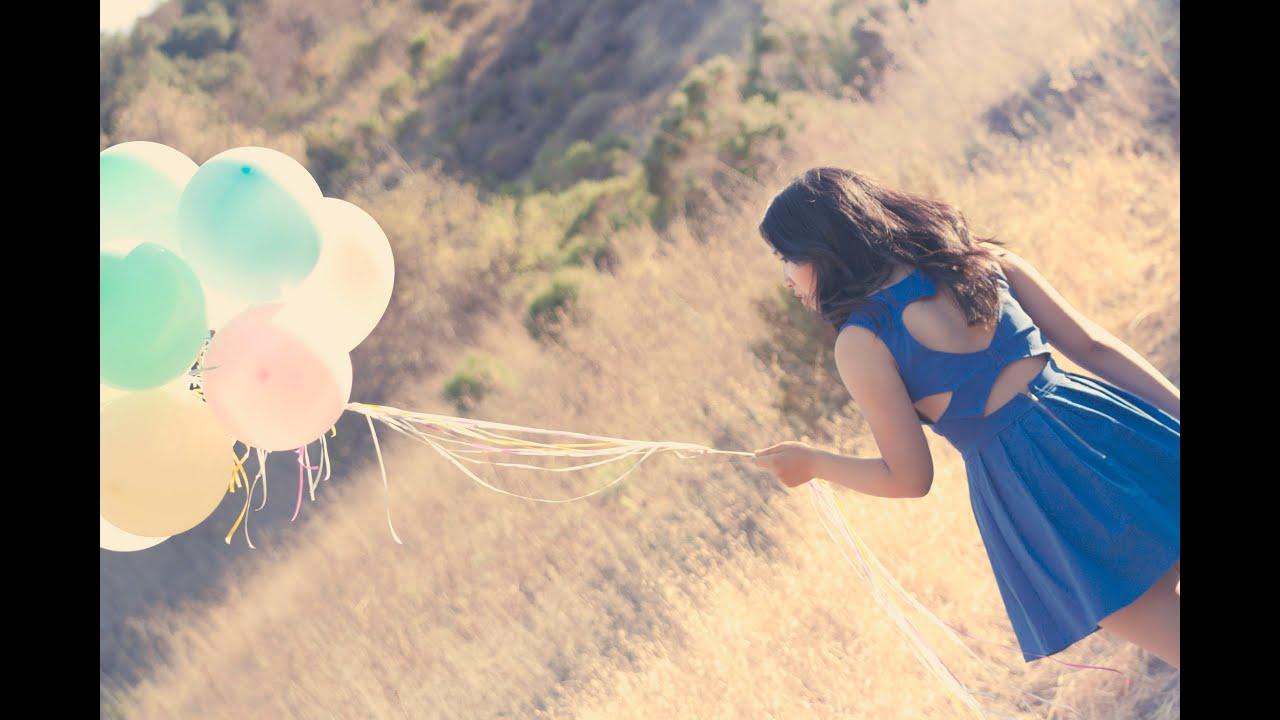 Vlog Pastel Balloons Birthday shoot